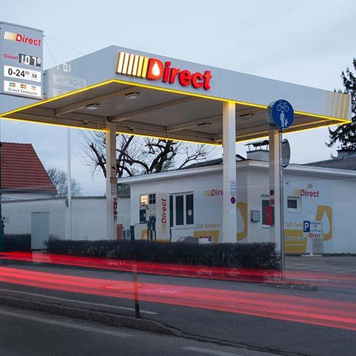 Tankstelle Tulln Mauthausgasse