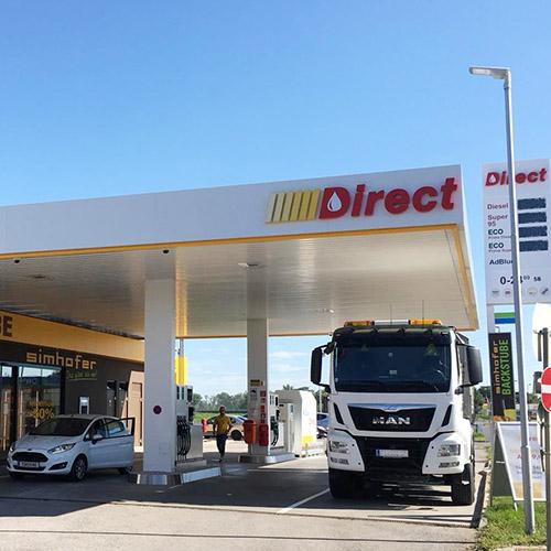 Direct Tankstelle Asparn Langenrohr