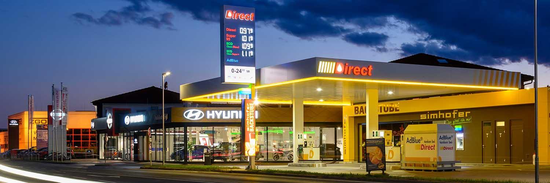 Direct Tankstelle Tulln-Asparn